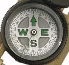Самодельный компас из булавки