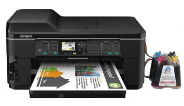 МФУ Epson WorkForce WF-7515 с СНПЧ (C11CA96311)
