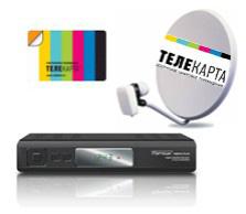 зона вещания Телекарта ТВ