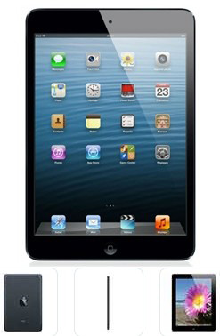 планшет APPLE A1460 iPad Wi-Fi 4G 64GB (black) MD524TU/A