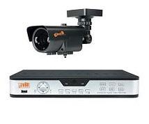 комплект оборудования для видеонаблюдения