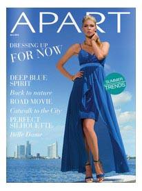 печатные, листающие каталоги модной одежды
