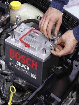 зарядка батереи автомобиля