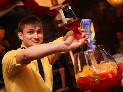 работа в Красноярске барменом