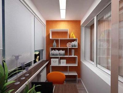 комната на балконе