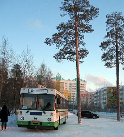 ЯНАО зима
