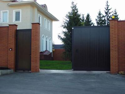 Откатные ворота от компании Архитек