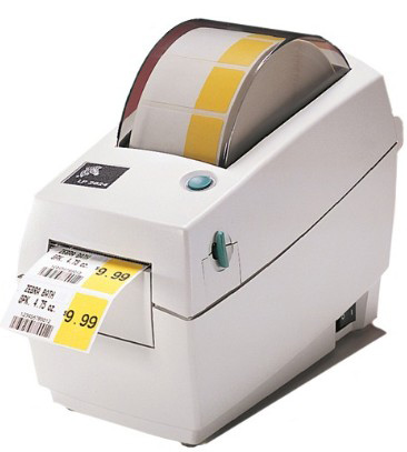 термопринтер zebra lp 2824
