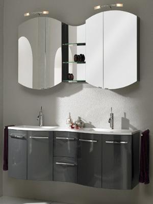 комплекты мебели для ванной