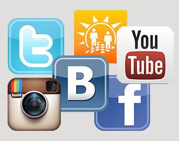 пиар в социальных сетях Инстаграм, Вконтакте, YouTube, Twitter