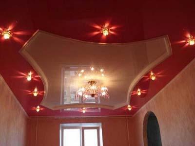 российские натяжные потолки