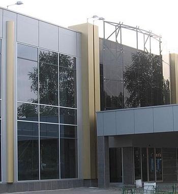 алюминиевые фасады в Киеве
