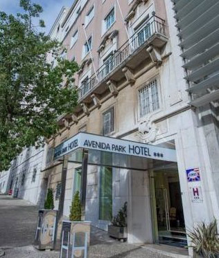 гостиницы лиссабона на карте