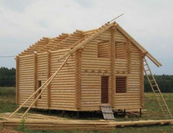 деревянные дома из оцилиндрованного бруса