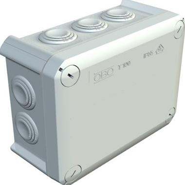 распределительная коробка с кабельными вводами для наружной установки