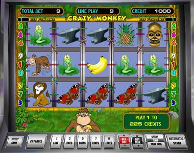 игровые автоматы вулкан: Crazy Monkey