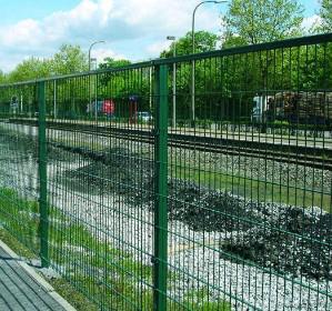 ограждения железнодорожных путей