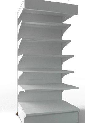 металлические стеллажи для магазина