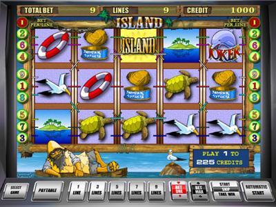 игровой автомат Island Остров