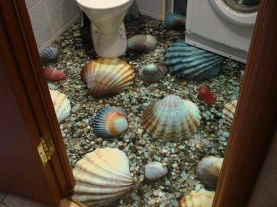 3D наливные полы