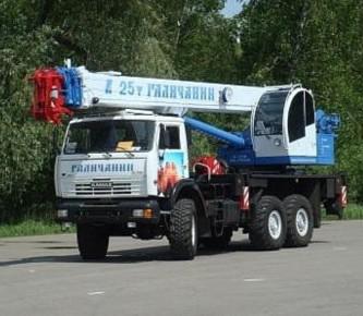 Автокран на базе КАМАЗ