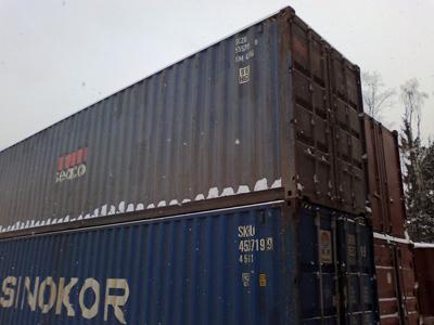 контейнер морской 40 футов