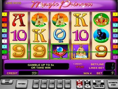 игровые автоматы: Magic Princess