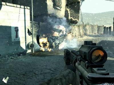 скачать call of duty modern warfare 2