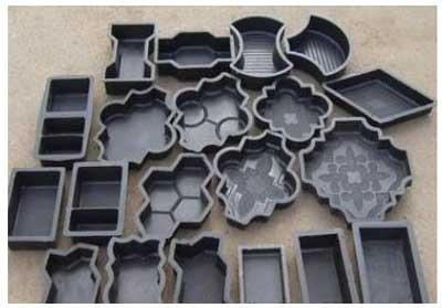 пластиковые формы для литья тротуарной плитки