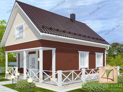 каркасные дачные дома цены