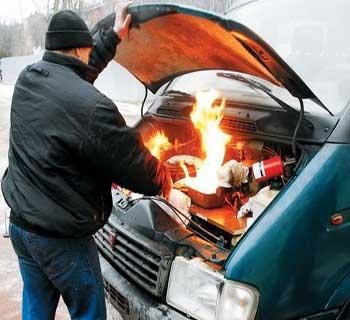 восстановление авто после пожара