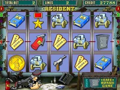 игровой автомат Resident «Сейфы»