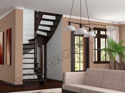 комбинированные лестницы для дома