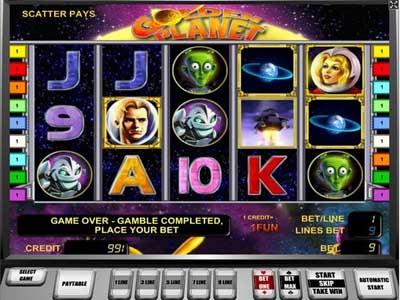 игровой автомат Golden Planet «Золотая планета»