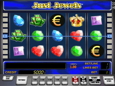 игровые автоматы онлайн Just Jewels Deluxe