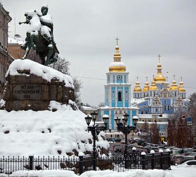 приятная погода в Киеве
