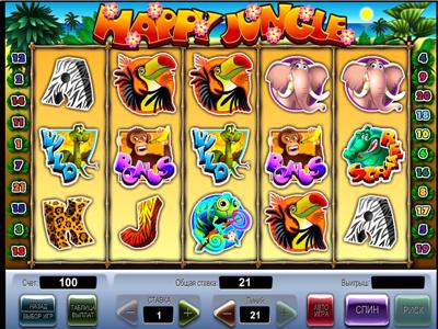 игровые автоматы на slotscompare.com: слот «Веселые джунгли»