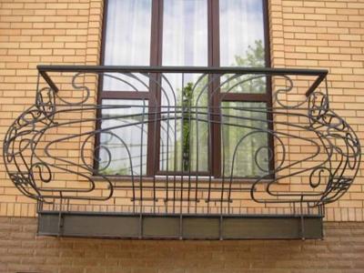 французский балкон в Киеве