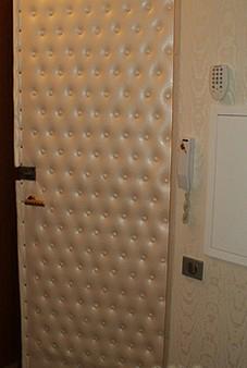 обивка дверей дерматином