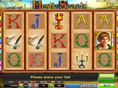 бесплатные игровые автоматы слот Mystic Secrets