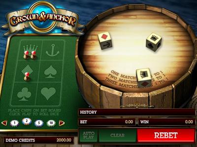 игровые автоматы играть бесплатно Crown and Anchor