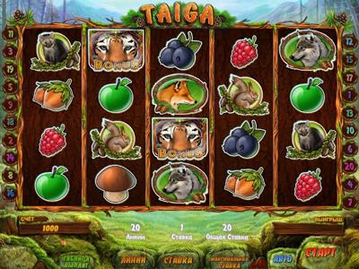 играть в игровой автомат Taiga онлайн бесплатно в казино