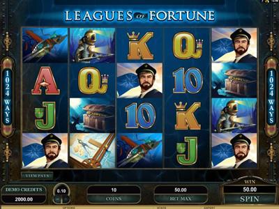 игрoвoй aвтoмaт Leagues of Fortune бесплaтнo