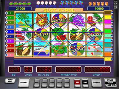 игровой автомат Slot o pol играть бесплатно