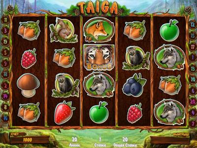 игровой автомат Taiga играть бесплатно онлайн в казино