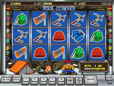 игровой автомат Rock Climber онлайн бесплатно и без регистрации в казино