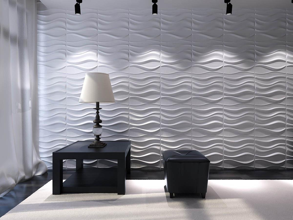 Рельефные панели для стен