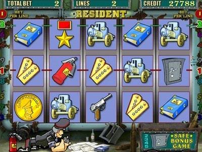 игровой автомат Resident играть бесплатно онлайн в казино
