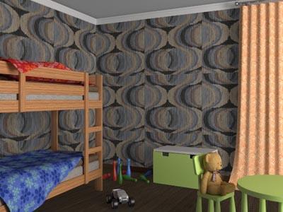 обои для зала, спальни, детской комнаты