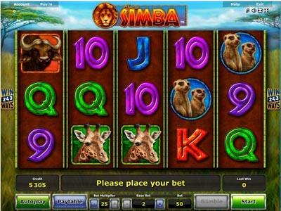 игровые автоматы бесплатно: Simba (Симба)